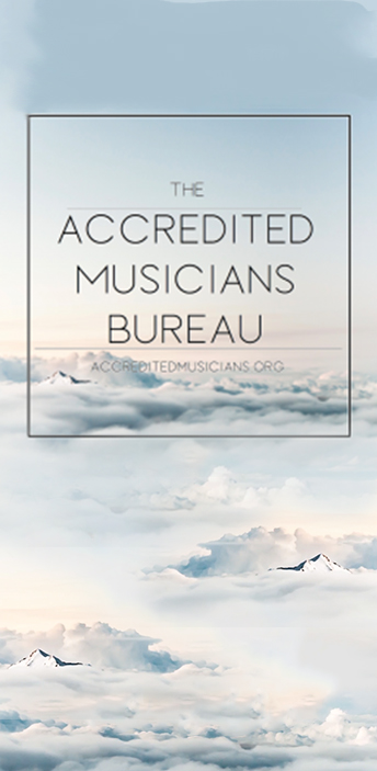 accredited musicians bureau side banner