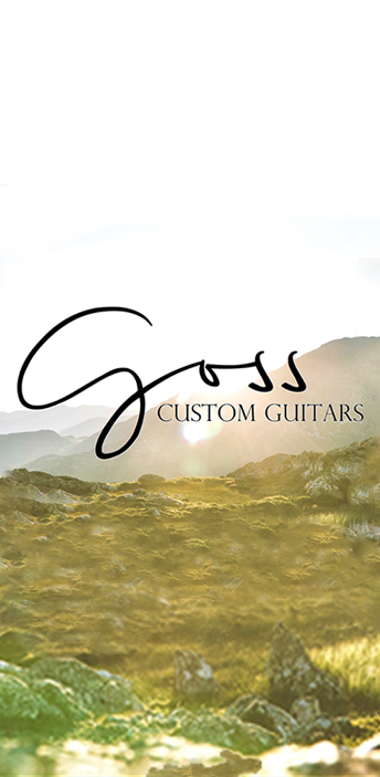 goss custom guitar side banner